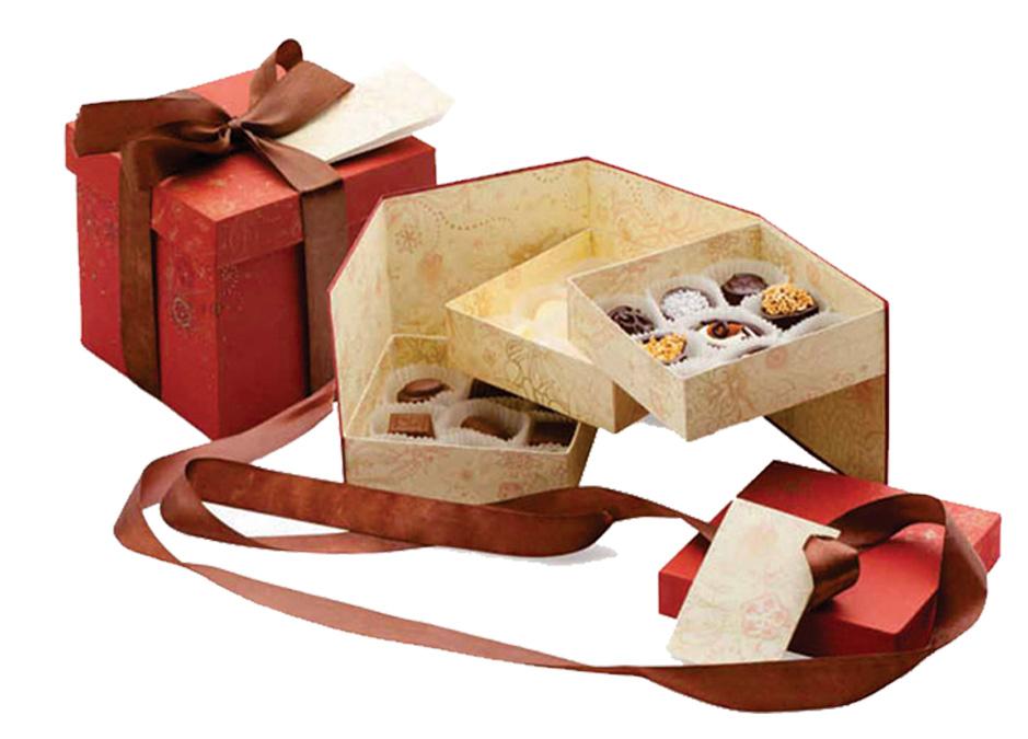 Красивая упаковка конфета